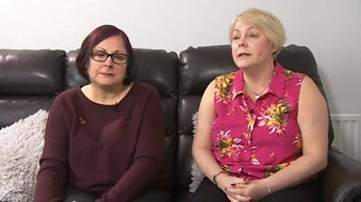 Karen Blackaby (left) and Kim Pomeroy