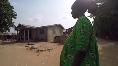 A pregnant woman in Mafi Dove
