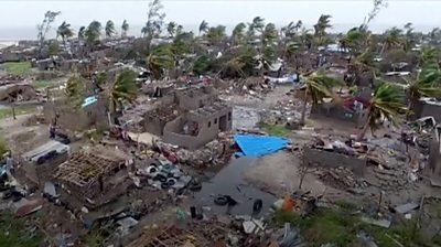 """Cyclone in Africa: """"People didn't stand a chance"""""""