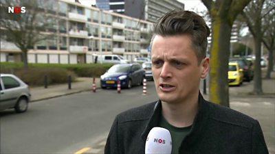 An eyewitness of the Dutch shooting attack