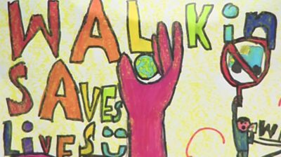 Walking saves lives