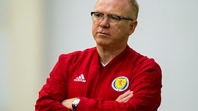 Scotland boss Alex McLeish wants to guide Scots to dream double