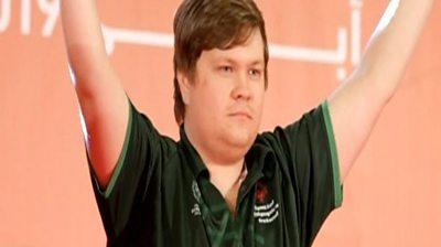 Team Ireland's Richard Currie
