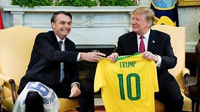 Jair Bolsonaro and Donald Trump