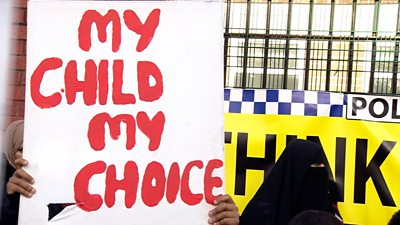 Parents protest again about LGBT teaching at Birmingham school