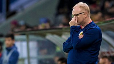 McLeish must accept criticism after embarrassing defeat