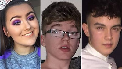 On St Patrick's Day, a crush outside a disco in Cookstown killed Lauren Bullock, Morgan Barnard and Connor Currie.   Dozens of students from St Patrick's Academy were there.