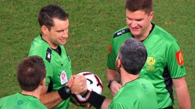 A League referees