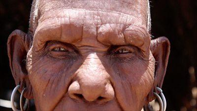 A woman in Turkana, Kenya