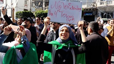 Algeria's young protesters