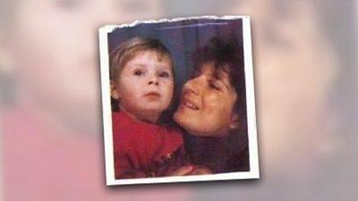 Rhiannon Treen-Jones with her mother