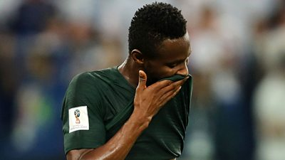 John Mikel Obi speaks about playing in the World Cup despite knowing his father had been kidnapped for a second time.