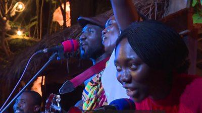 Ghana palm wine-band