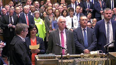 Teller announced Brexit vote result