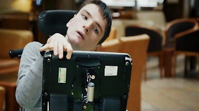 Stefan Clatworthy has cerebral palsy but dreamed of directing films