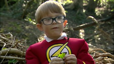 Four-year-old Parker Lawrie is determined to protect wildlife in his local park.