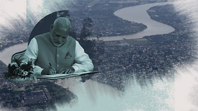 Prime Minister Modi and the River Ganges