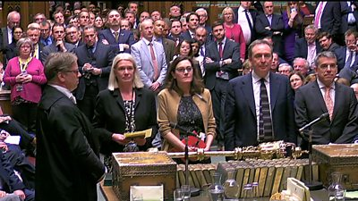 MPs announce tied vote