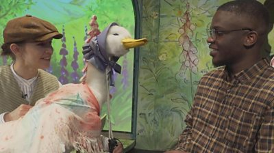 Meet the amazing puppets from Peter Rabbit stage show