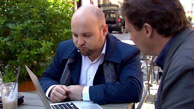 Markus Frohnmaier and Gabriel Gatehouse