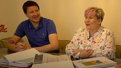 When Justin Revell bought his house, he didn't expect a litany of problems.  He and his neighbour Lyn Whiteman helped each other deal with builder Taylor Wimpey.