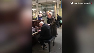 St Pancras Piano