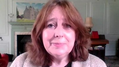 """Susan DeVere says her raffle to win a Scottish castle was """"as transparent as possible""""."""