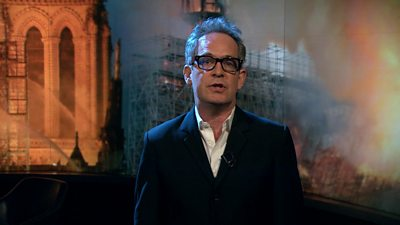 Tom Hollander reads Notre-Dame extract