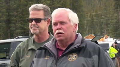 Clear Creek County Sheriff Rick Albers