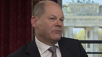 Olaf Scholz, German Vice Chancellor and Finance Minister