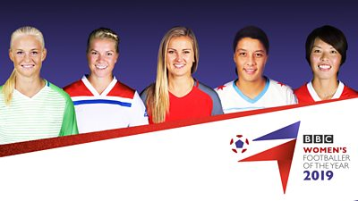 Meet the five contenders for the BBC Women's Footballer of the Year 2019 award.