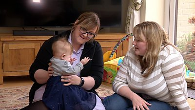 Nottingham midwife saves best friend's life