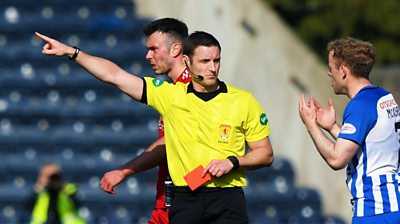 'Steven McLean shouldn't referee Kilmarnock games'