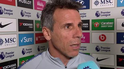 Chelsea assistant first team coach Gianfranco Zola