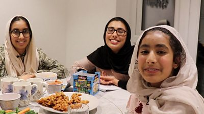 Fatima and her sisters