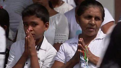 Sri Lanka mourners