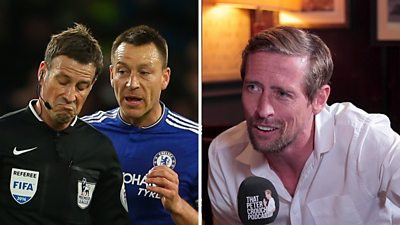 Peter Crouch reveals how former England team-mate John Terry would 'win over' a referee.