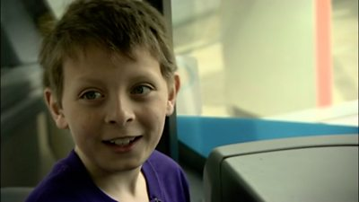 Bus numbers helped boy with autism learn to count