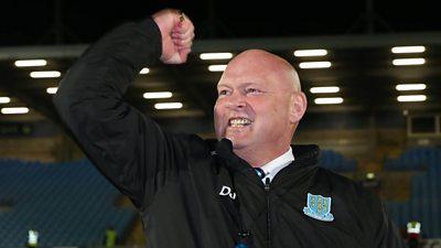 Ballymena United manager David Jeffrey