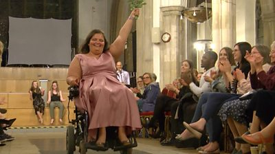 Body image fashion show highlights importance of being yourself