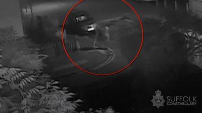 CCTV of Ipswich robbery
