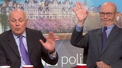 Iain Duncan Smith and Pascal Lamy on Politics Live