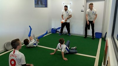 Inclusion room for autistic football fans