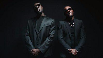 Stormzy and Idris Elba in Vossi Bop