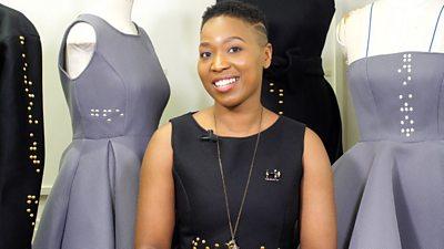 Fashion designer Tapiwa Dingwiza