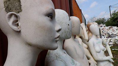 mannequin graveyard