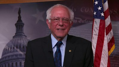 Senator Bernie Sanders interview