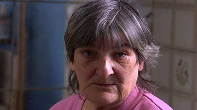 Sheila Warner says she is waiting for her landlord to carry out work on her home of 16 years.
