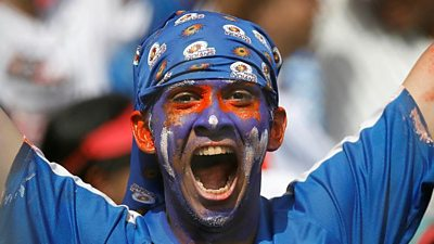 A Mumbai Indians fan