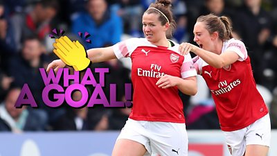 Arsenal's Emma Mitchell